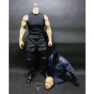 1:6 Fast and Furious - Vin Diesel Male Custom Figure Set Wolfking (Outfit and Headsculpt Only)