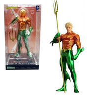 (CLEARANCE) 1:10 New 52 : Justice League - Aquaman Figure ARTFX+ Kotobukiya