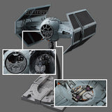 1:72 Star Wars - Darth Vader 's Tie Fighter Advanced Model Kits Bandai