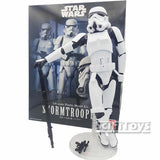 1:6 Star Wars - Stormtrooper The Empire's Elite Soldier Model Kit Bandai