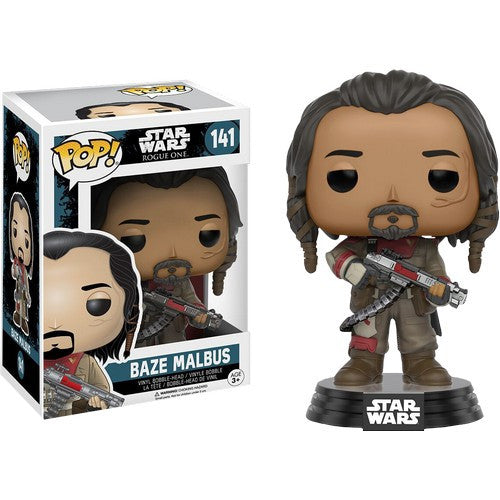 Star Wars : Rogue One - Baze Malbus #141 Pop! Vinyl Funko