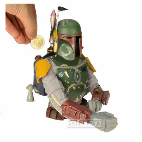 Star Wars : Return of the Jedi - Boba Fett Bust Bank Diamond Select