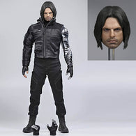 1:6 Marvel Captain America Civil War  : (CUSTOM) Winter Soldier Bucky