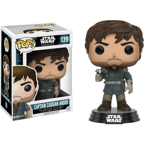 Star Wars : Rogue One - Captain Cassian Andor #139 Pop! Vinyl Funko