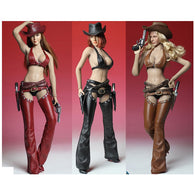 1:6 Scale FEMALE Cowgirl Custom Set - Super Duck (Outfit only)