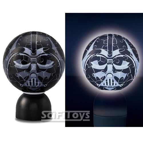 (CLEARANCE) Star Wars - Darth Vader 3D Light-up Puz-Lantern Jigsaw Puzzle