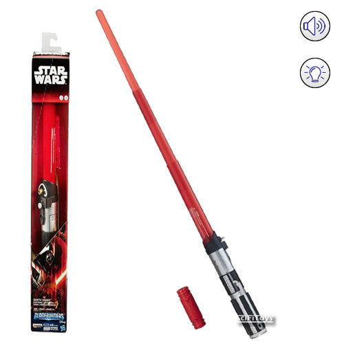 Star Wars : A New Hope - Darth Vader Electronic Lightsaber Bladebuilders with Sound and Light Hasbro