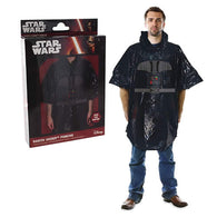 (CLEARANCE) Star Wars - Official Licensed Darth Vader Poncho Rain Coat