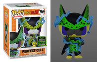 Dragon Ball Z - Perfect Cell Glow in the Dark #759 Pop Vinyl Funko ECCC 2020 Spring Convention Exclusive