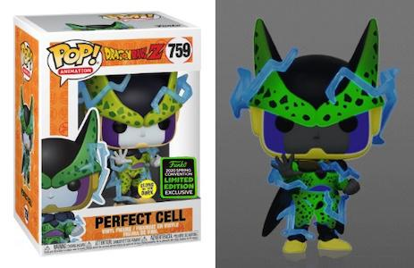 Anime : Dragon Ball Z - Perfect Cell Glow in the Dark #759 Pop Vinyl Funko ECCC 2020 Spring Convention Exclusive