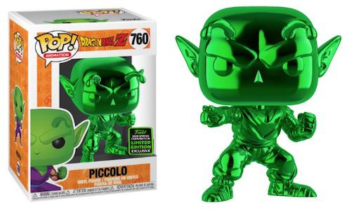 Dragon Ball Z - Picollo Green Chrome #760 Pop Vinyl Funko ECCC 2020 Spring Convention Exclusive