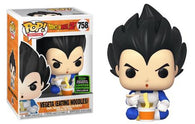 Anime : Dragon Ball Z - Vegeta Eating Noodles #758 Pop Vinyl Funko ECCC 2020 Spring Convention Exclusive