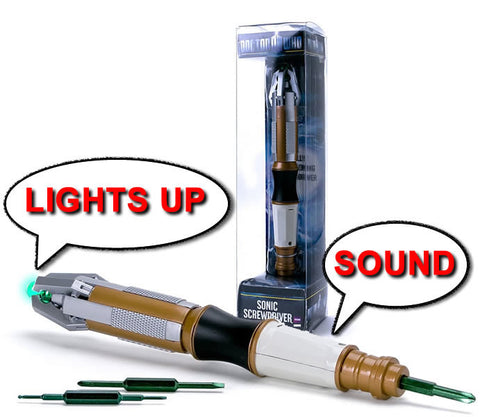 Sonic Screwdriver Toys - Doctor Who Toys
