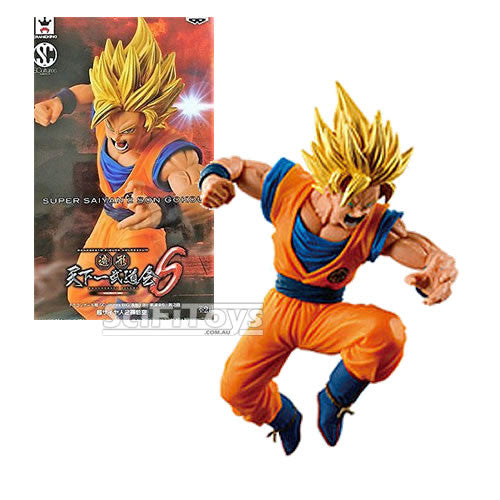 Dragon Ball Z - Super Saiyan 2 Son Goku Sculture Statue Big Budoukai Colosseum 6 Vol. 4 Banpresto