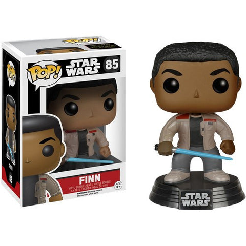 Star Wars : The Force Awakens - Finn with Lightsaber #85 Pop! Vinyl Funko