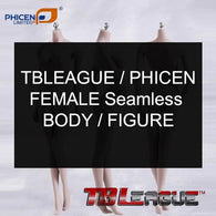 1:6 Super Flexible Steel FEMALE Seamless Body for Custom Figure TB league Phicen