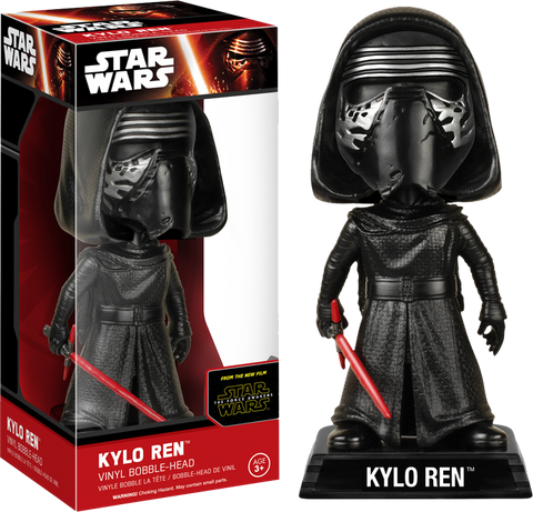 Star Wars : The Force Awakens - Kylo Ren Bobble Head Wacky Wobbler Funko