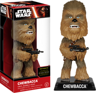 Star Wars : The Force Awakens - Chewbacca Bobble Head Wacky Wobbler Funko