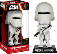 Star Wars : The Force Awakens - First Order Snowtrooper Bobble Head Wacky Wobbler Funko