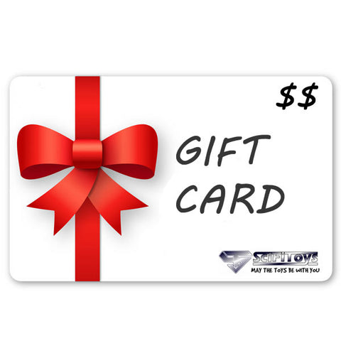 SCIFITOYS GIFT CARD