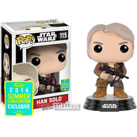 Star Wars : The Force Awakens - Han Solo with Bowcaster #115 Pop Vinyl Funko 2016 SDCC Exclusive