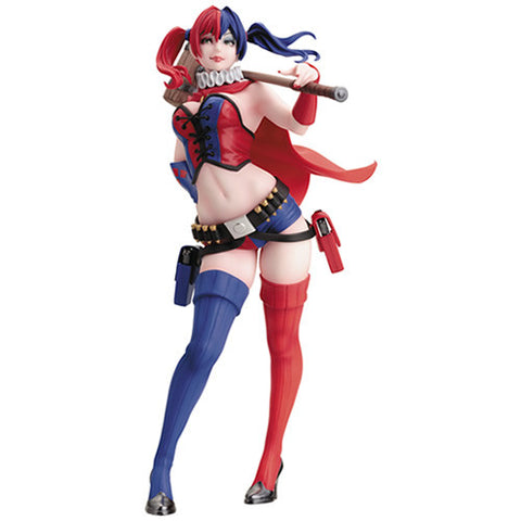 1:7 New 52 - Harley Quinn Bishoujo Pre-Painted Model Kit Statue Kotobukiya