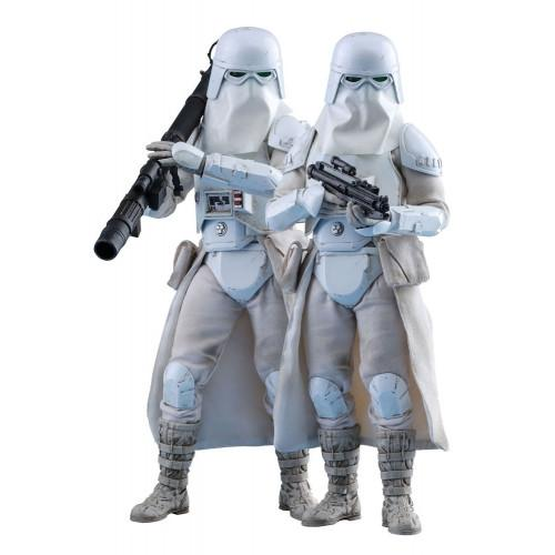1:6 Star Wars : Battlefront - Snowtrooper Figure Double Set VGM25 Hot Toys (LAST CHANCE)