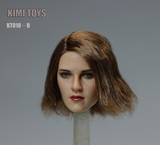1:6 European Female Custom Figure Head Sculpt Kimi Toys