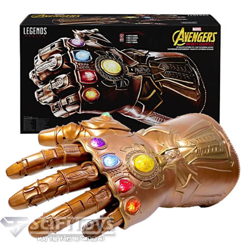 Avengers : Infinity War - Articulated  Thanos Gauntlet with Electronic Sound and Light Marvel Legends