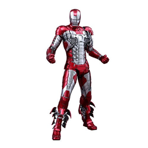 1:6 Iron Man 2 - Iron Man Mark V 5 Diecast Figure MMS400D18 Hot Toys (LAST CHANCE)