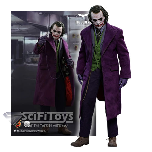 1:4 Batman : The Dark Knight - Joker Figure QS010 Hot Toys Special Edition