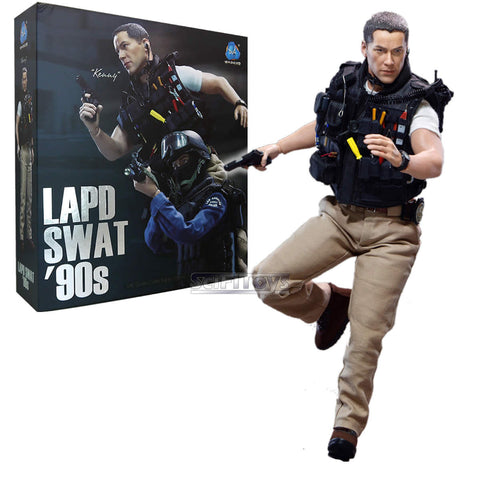 1:6  LAPD SWAT '90S - Kenny Keanu Reeves Jack Traven DID MA1003 Figure