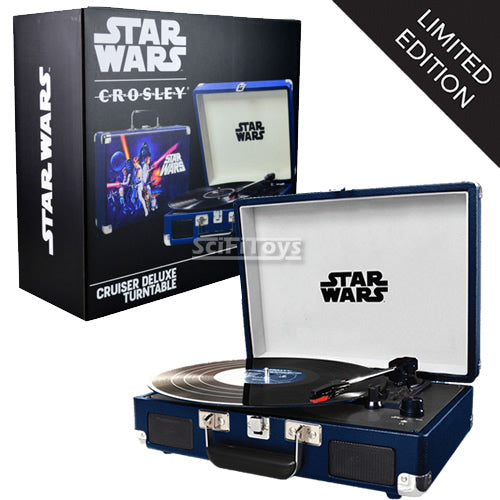 CROSLEY STAR WARS Classic Limited Edition Deluxe Bluetooth Turntable Speaker