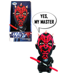 "9"" Star Wars - Darth Maul Talking Plush Toy"