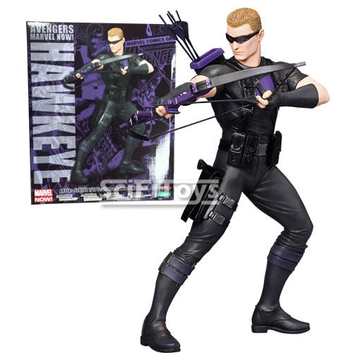 (CLEARANCE) The Avengers Now - Hawkeye Figure Statue MK157 ARTFX+ Kotobukiya