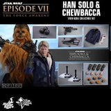 1:6 Star Wars : The Force Awakens - Han Solo And Chewbacca Figure Set MMS376 Hot Toys