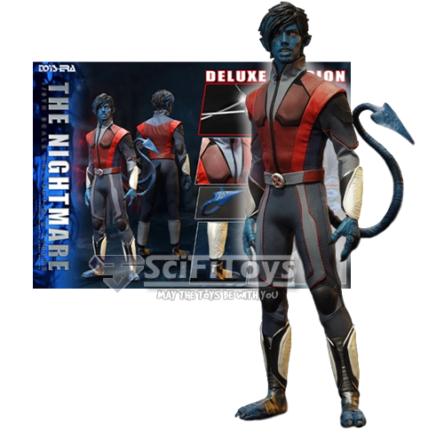 1:6 X-Men - Blue Devil Nightmare A.K.A Nightcrawler Ultimate Combat Suit Male Custom Figure Deluxe  Toys Era