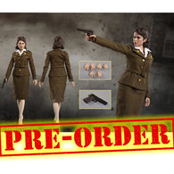 (PREORDER) 1:6 Captain America Carter Peggy Carter Custom Female Figure Set