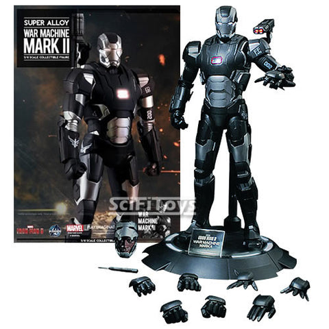 1:4 Iron Man 3 - Warmachine Mark II 2 Diecast Figure Super Alloy Series Play Imaginative