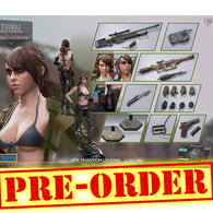 1:6 Metal Gear Solid - Quiet Light Gear / Sinful Butterfly Version Female Custom Figure Set (Outfit and Headsculpt Only)