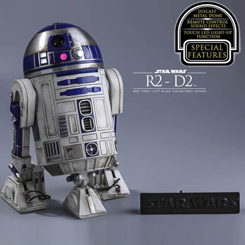 1:6 Star Wars : The Force Awakens - R2-D2 Figure MMS408 Hot Toys (LAST CHANCE)