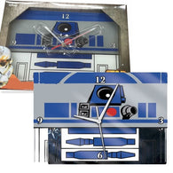 Star Wars R2-D2 Glass Wall Clock