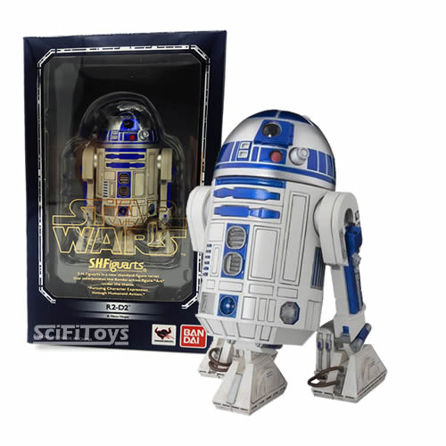1:12 Star Wars - A New Hope - R2-D2 S.H.Figuarts Figure Bandai Tamashii Nations