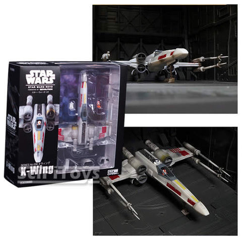 Star Wars - Revo X-Wing with Luke and R2D2 Figure Kaiyodo