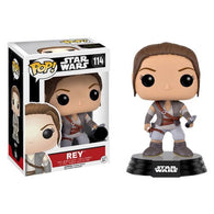 Star Wars : The Force Awakens - Rey Final Scene Outfit  #114 Pop Vinyl Funko