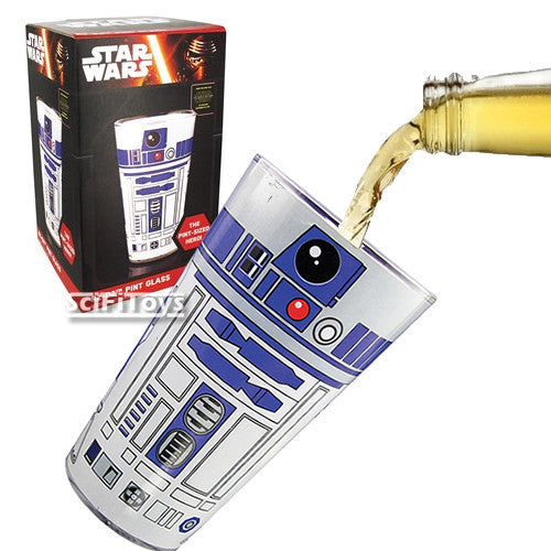 (CLEARANCE) Official Star Wars Disney - R2-D2 500ml Pint Glass