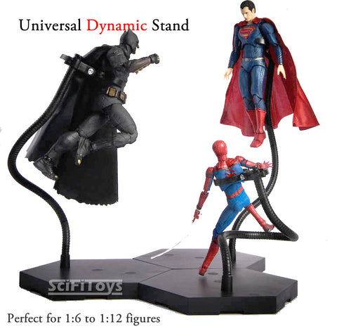 "1//6 Dynamic Stand U//C Display Holder fit Phicen Sideshow BBI HT 12/"" Figure Doll"