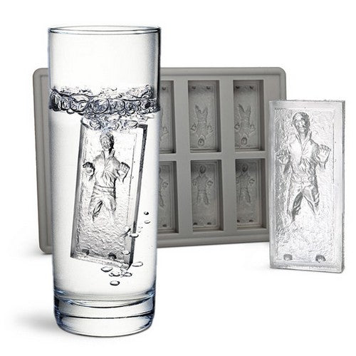 Star Wars - Original Han Solo in Carbonite Silicone Ice Tray Kotobukiya