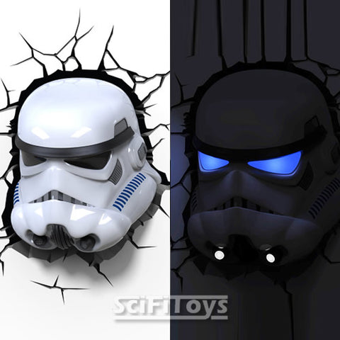 Star Wars - Stormtrooper 3D FX Deco Wall Light