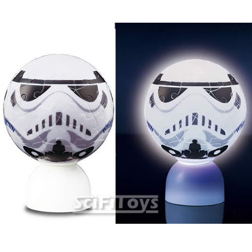 (CLEARANCE) Star Wars - Stormtrooper 3D Light-up Puz-Lantern Jigsaw Puzzle